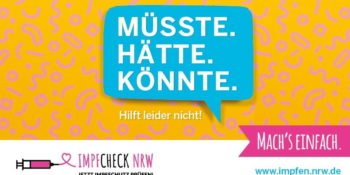 Impfcheck NRW - jetzt den Impfschutz prüfen!