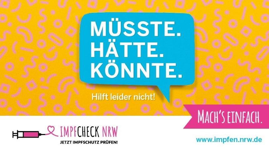 Impfcheck NRW – jetzt den Impfschutz prüfen!